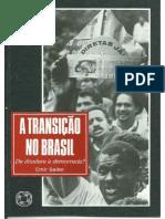 A Transição no Brasil - Emir Sader.pdf