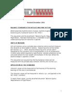 Balance Standard Revised December 2003 (MDI)
