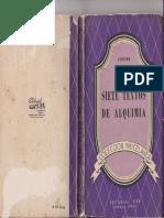 Siete Textos de Alquimia