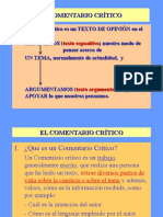 EL COMENTARIO.ppt