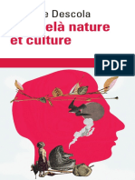 Philippe Descola - Par Delà Nature Et Culture - Gallimard (2005)