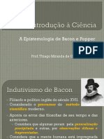 04_A Epistemologia de Bacon e Popper