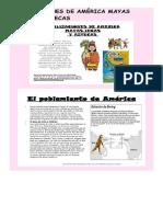 Aztecas, Mayas, Incas