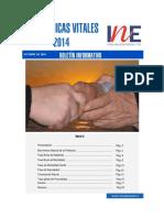Estadisticas Vitales 2014