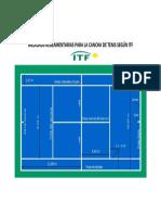 Medidas de Cancha de Tenis