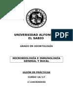 56339_10.- GUION PRACTICAS Microbiología GOD 1º cuatrimestre Curso 16-17 (2)