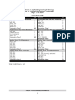 curriculum guides - college of science   technology 1