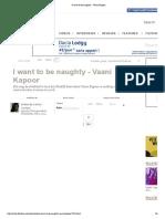 _I Want to Be Naughty_ - Vaani Kapoor