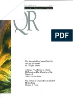 Winter 2000-2001 Quarterly Review - Theological Resources for Ministry