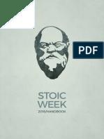 Stoic Week 2016 Handbook Stoicism Today