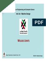 MEC-430 Welded Joints