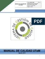 Manual Calidad UTeM VF