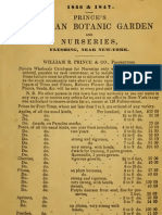 (1846) Prince's Lainnaen Botanic Garden and Nurseries Flushing, Near New York