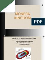 Monera, Protoctista and Fungi Kingdom
