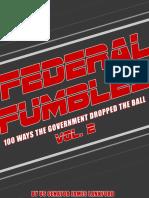 Federal Fumbles 2016