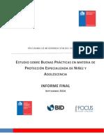 Informe Final Estudio Buenas Practicas en La Protección de La Niñez