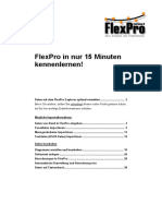 Getting Started Flexpro