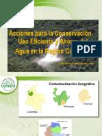 Presentacion Uso Eficiente y Ahorro Del Agua - CORNARE