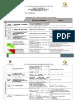 1.- Carta Descriptiva Fase Intensiva 16 - 17
