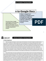 google docs instructions