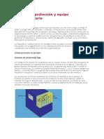 Medidas de Protección y Equipo Complementario