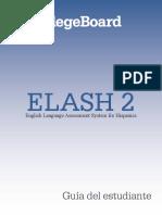 Guía Del Estudiante ELASH 2