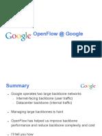 Hoelzle Tue Openflow