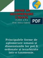 FORME DE AGLOMERARE UMANĂ