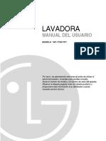 Lavadora Lg (Wf-t1052tp)