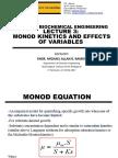 Lecture 3 - Monod Kinetics
