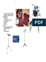 Lista Regalos de Percusión