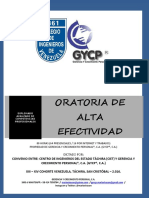 Modulo i Diplomado de Oratoria de Alta Efectividad Definitivo Xiii Xiv Sc 2016