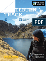 Routeburn Track Brochure