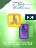 18-36m Spanish Parenting Guide - Web