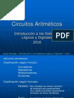 Tema 8 Circuitos Aritmeticos 2016