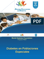 6 Diabetes en Poblaciones Especiales Niños y Adolescentes