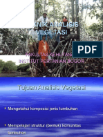 242498095 Analisis Vegetasi Ppt