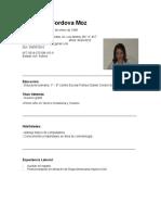 Curriculum Sofia 3