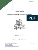Laudo Técnico - Edifício - Modelo Resumido