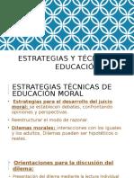 Estrategias y Técnicas de Educación Moral - Copia