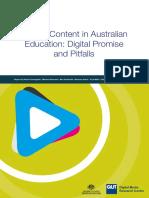 Australian Screen Content in Education