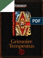 Dreadfox Games - Grimoire Tempestus