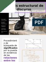 UGM Metodologia Cualitativa II Análisis Estructural de Discurso
