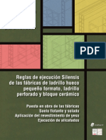 Manual de Ejecución de Fábricas de Ladrillo Para Revestir - Cuaderno 1