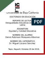 Desigualdades Educativas en America Latina