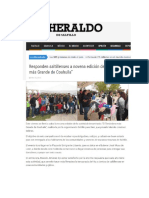 25-11-16 Responden Saltillenses a Novena Edición Del Tendedero Más Grande de Coahuila