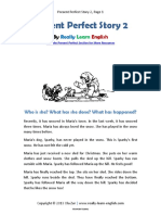 Present Perfect Story 2