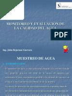 Monitoreo y Evaluacion de Calidad Del Agua