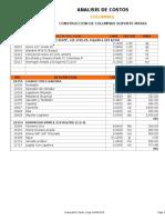 Analisis de Costos jcpr