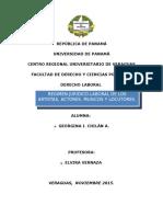 Regulación Laboral panameña Artistas, Músicos y locutores.